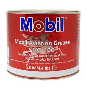 Mobil – SHC 100 Synthetic Aviation Grease, 2 kg w magazynie