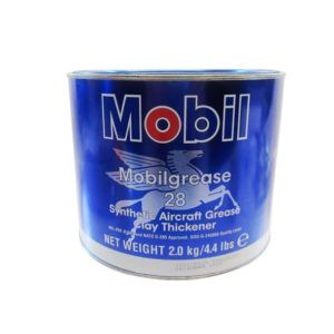 Mobil Grease 28 Red MIL-PRF-81322G 2 Kg  469,00 zł brutto w magazynie